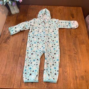 Arctix Baby Fleece Snowsuit Bodysuit stars 18/24m